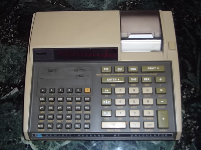 Hewlett Packard 97 Calculator
